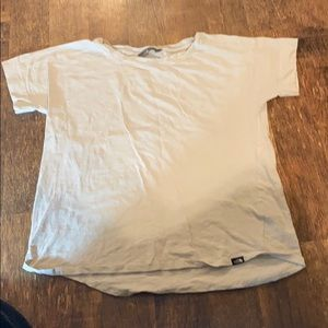 Cream colored The North Face shirt Size XL